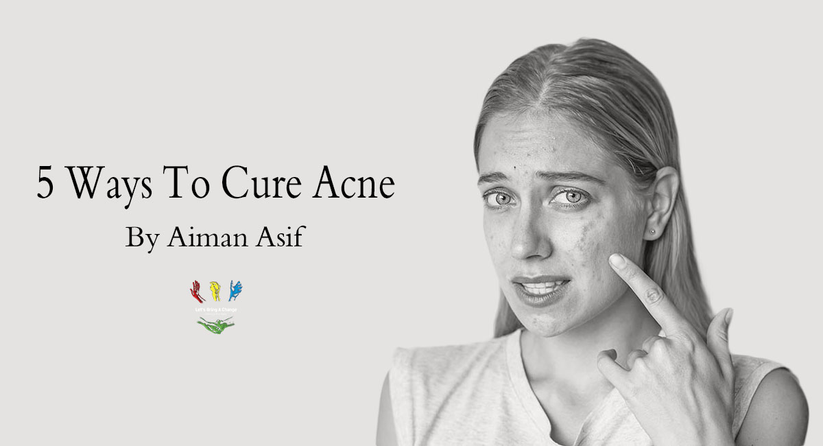 5 ways to cure acne